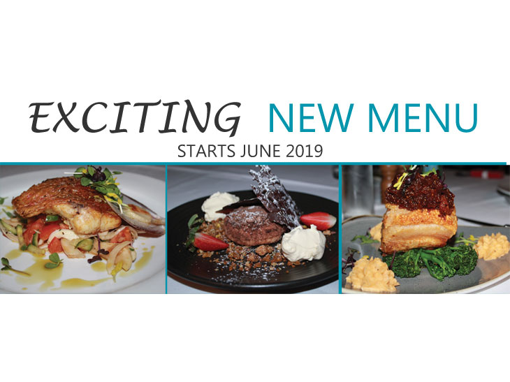 New Menu - June 2019